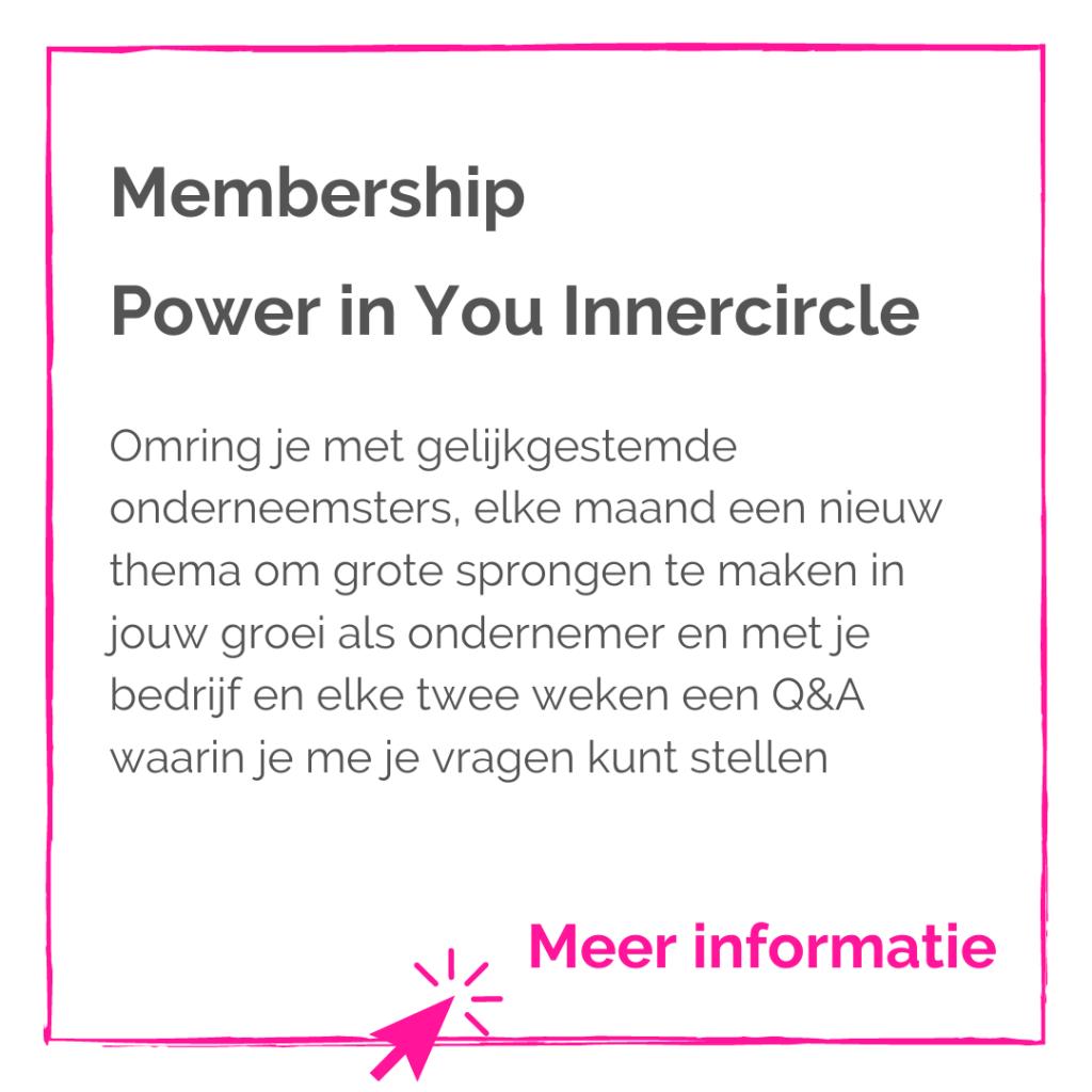 Power in You Innercircle - Wendy Koning